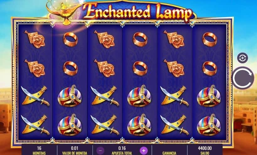 Símbolos, Gráficos, sonidos y animaciones de Enchanted Lamp