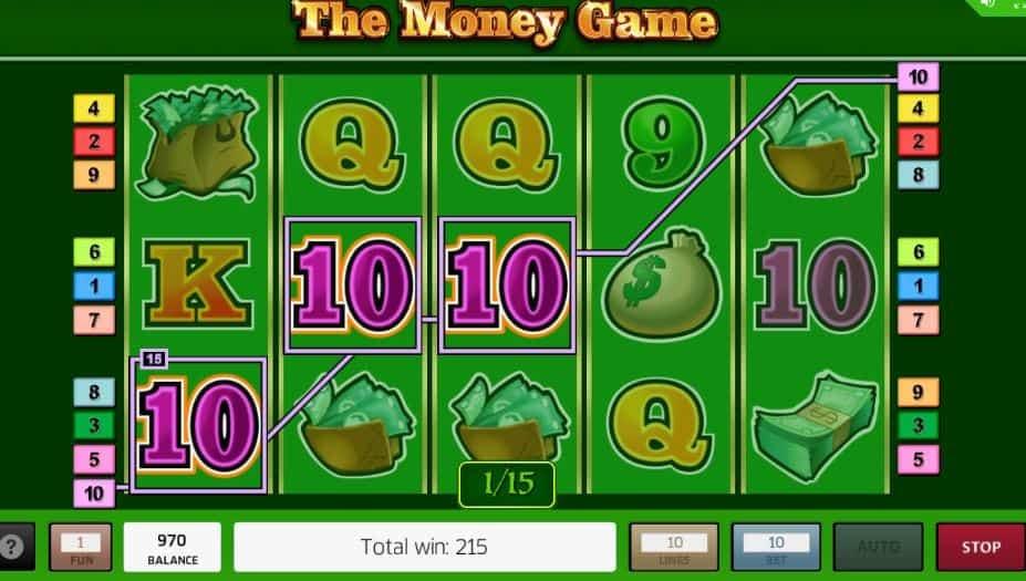 Función de bonus muy popular que ofrece spins gratis y Juegos especiales en The Money Game