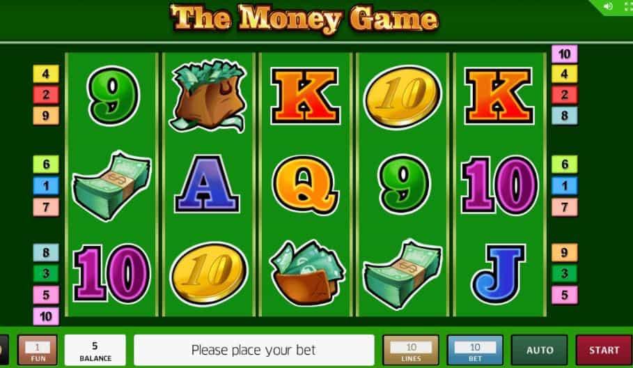 Símbolos, Gráficos, sonidos y animaciones de The Money Game