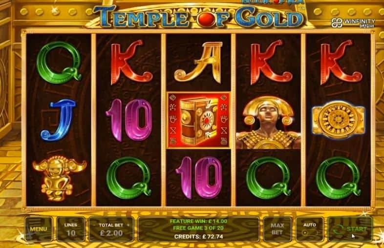 Función de bonus muy popular que ofrece spins gratis y Juegos especiales en Book of Ra Temple of Gold
