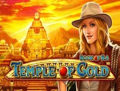 Book of Ra Temple of Gold logo