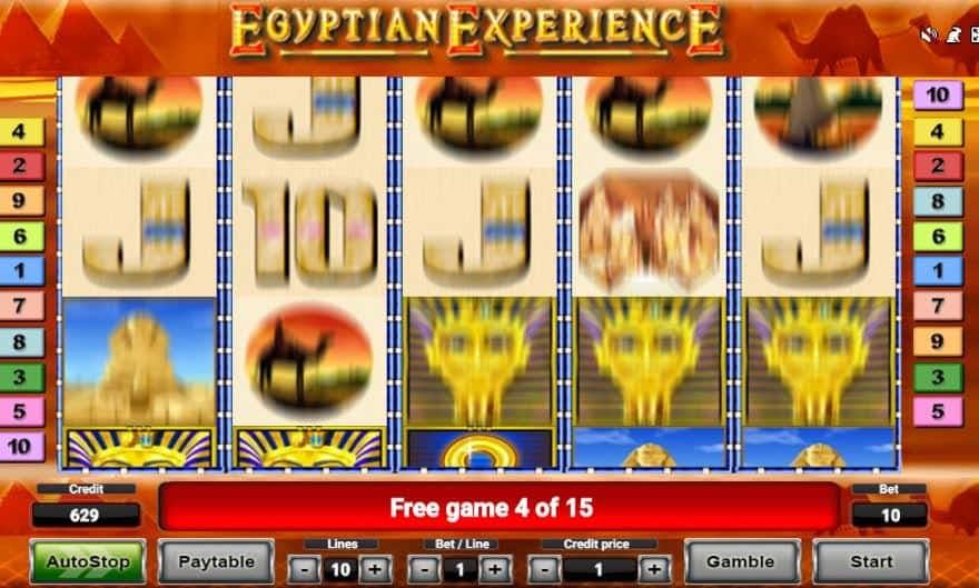 Función de bonus muy popular que ofrece spins gratis y Juegos especiales en Egyptian Experience