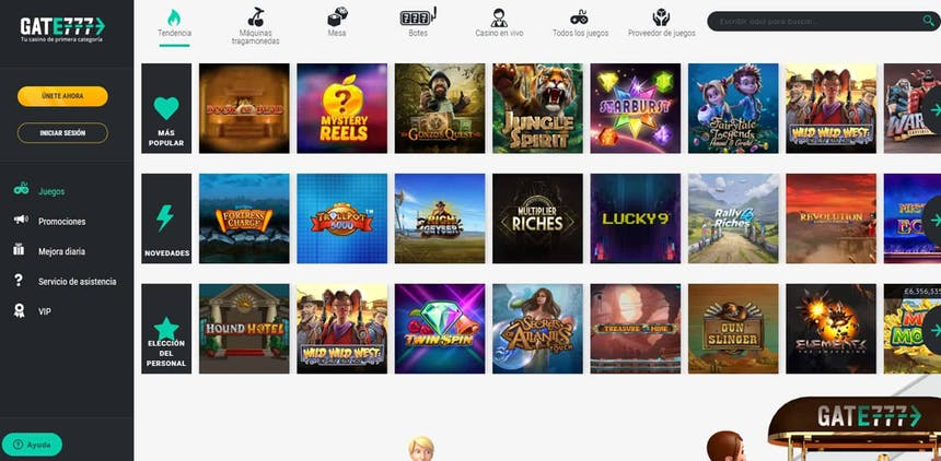 juegos de slot online en Gate777