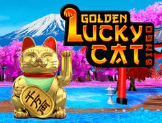Golden Lucky Cat Bingo logo