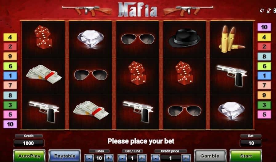 Símbolos, Gráficos, sonidos y animaciones de Mafia