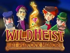 Wild Heist at Peacock Manor logo