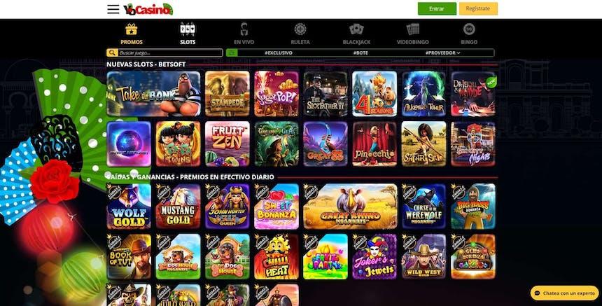 juegos de slot online en Yocasino