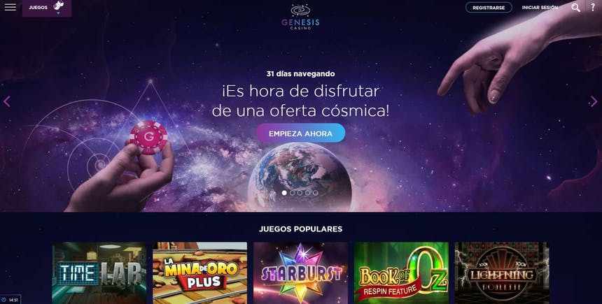 juegos de slot online en Genesis