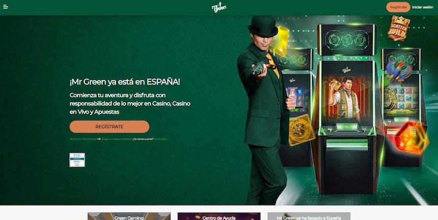 juegos de slot online en Mr Green