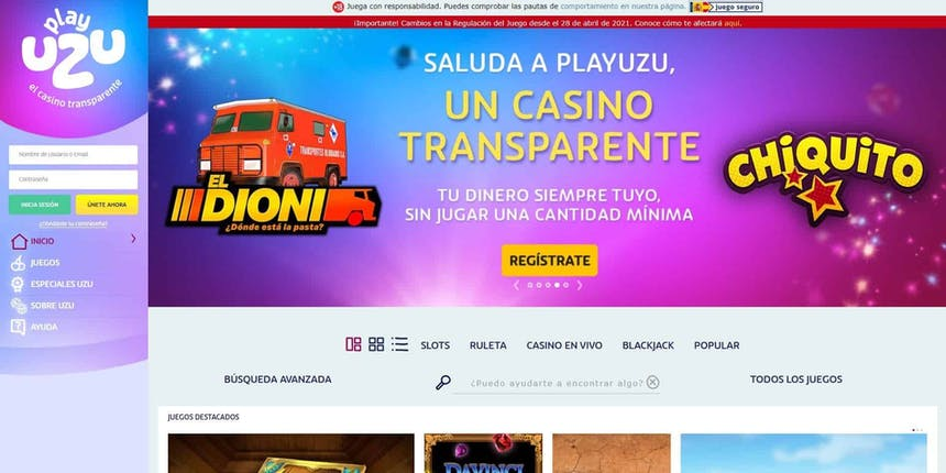juegos de slot online en PlayUzu