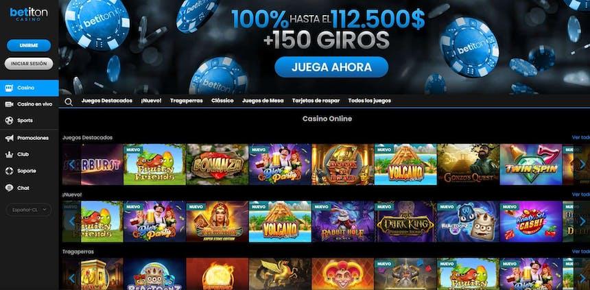 Juegos de slot online en Betiton