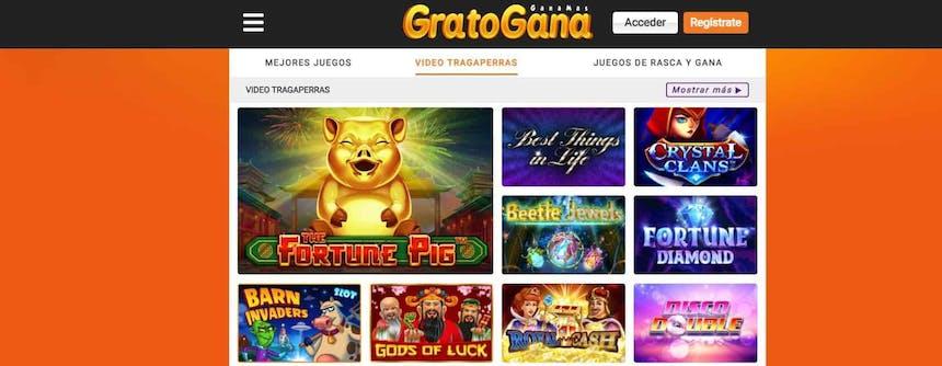 juegos de slot online en GratoGana