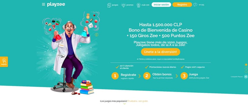 Juegos de slot online en Playzee