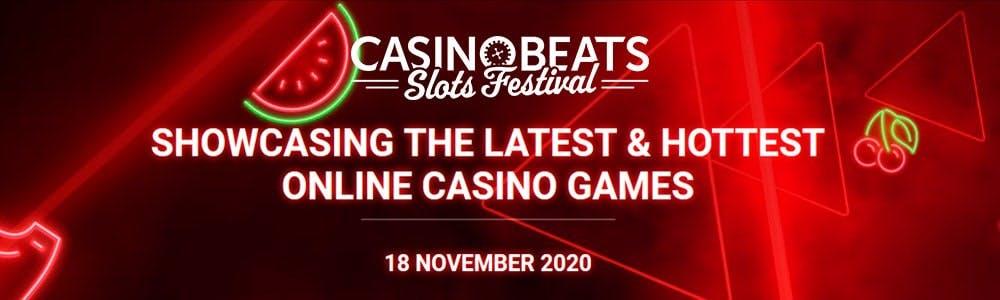 Comienza el CasinoBeats Slots Fetival 2020
