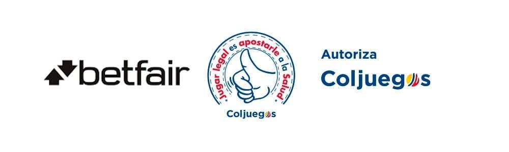 Betfair Colombia tiene licencia de ColJuegos