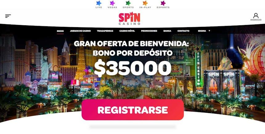 bono e promozione del Spin Casino