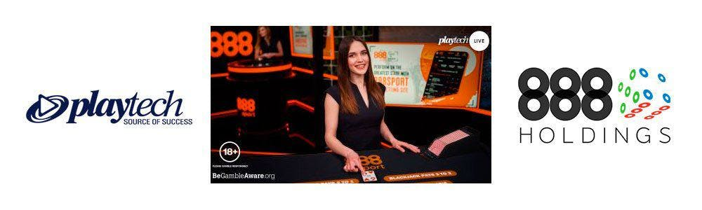 888casino y Playtech: acuerdo live casino