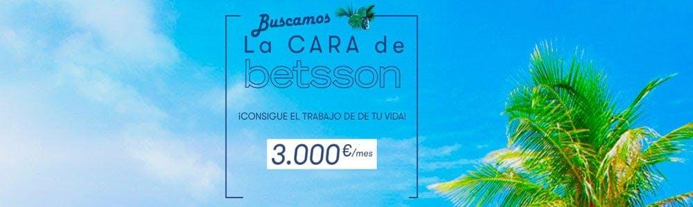 Casino Betsson busca su nueva cara en España