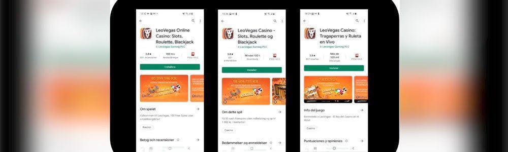 Funciona la App LeoVegas España para Android