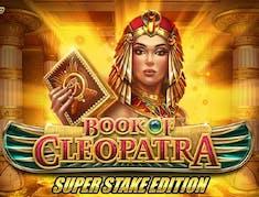 Book of Cleopatra Super Stake logo