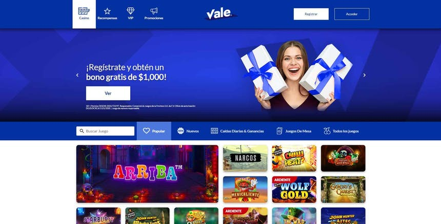 juegos de slot online en Vale