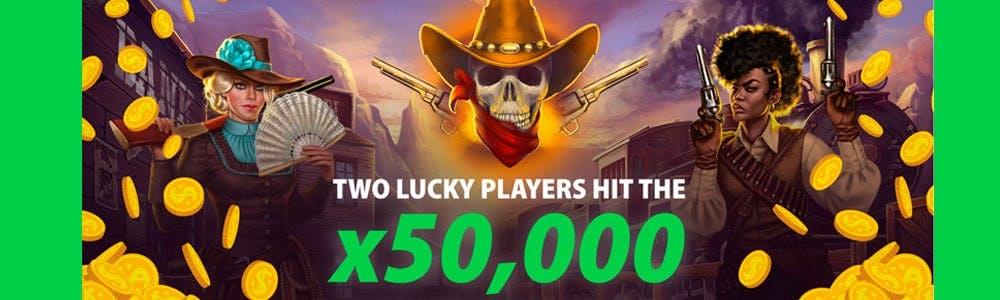 Dos jugadores activan el X50.000 en 48 horas
