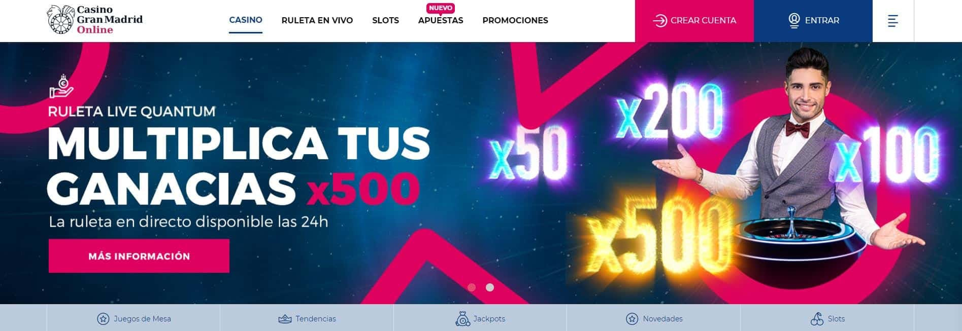Grand Madrid casino online español