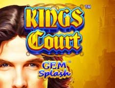 Kings Court Gem Splash logo