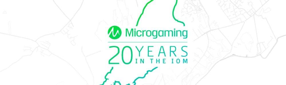 Microgaming celebra su veinte aniversario.