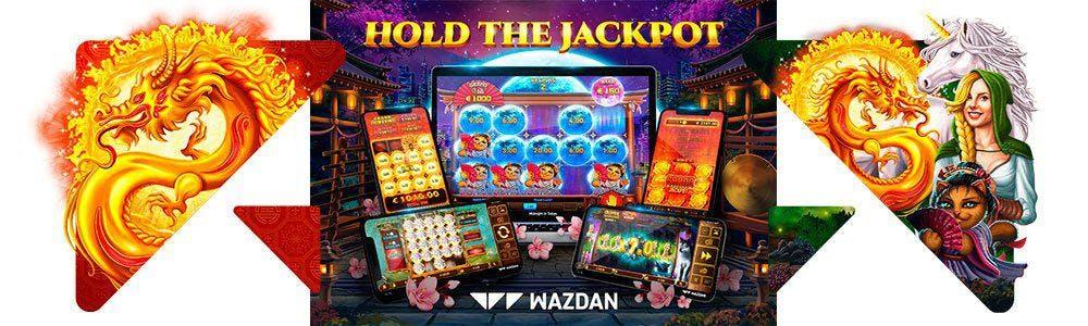 Función Hold the Jackpot: Wazdan tragaperras