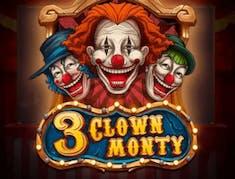 3 Clown Monty logo