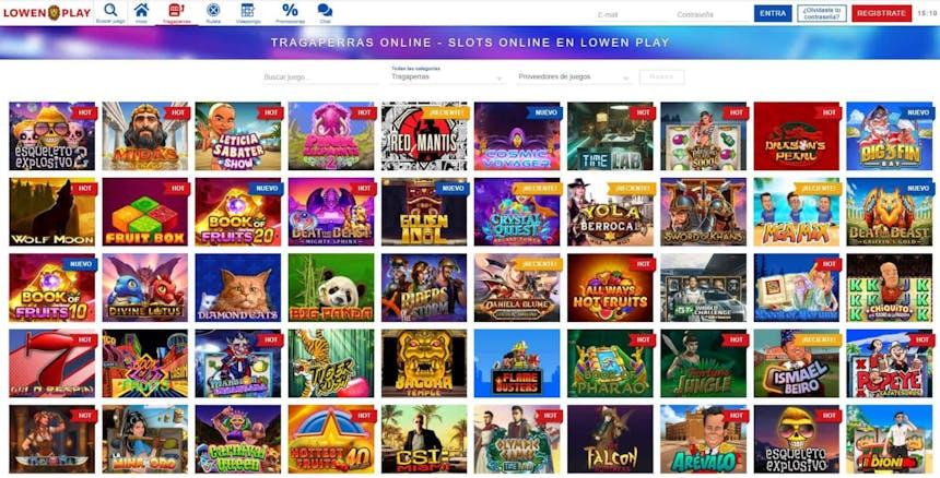 juegos de slot online en Lowen Play