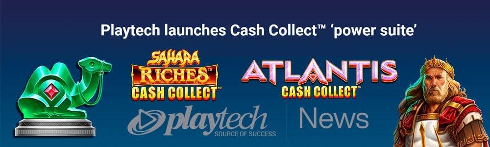 Tragaperras Cash Collect Suite de Playtech