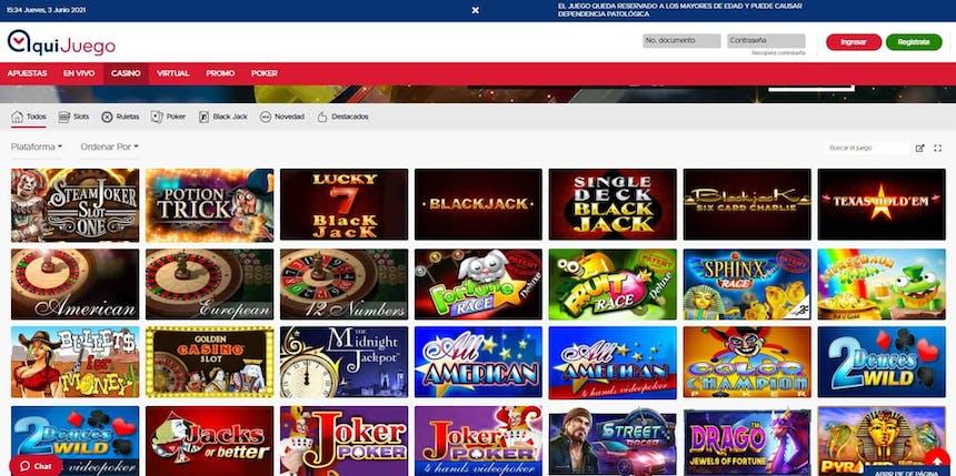 juegos de slot online en AquiJuego