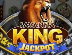 Savanna King Jackpot logo