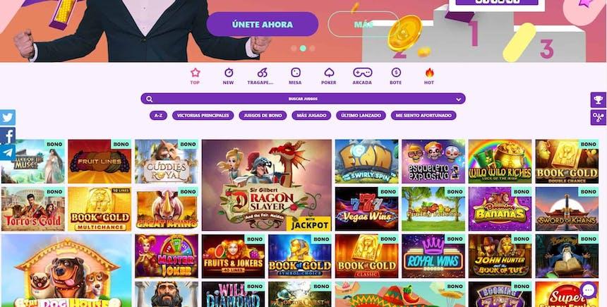 juegos de slot online en Spin Pug