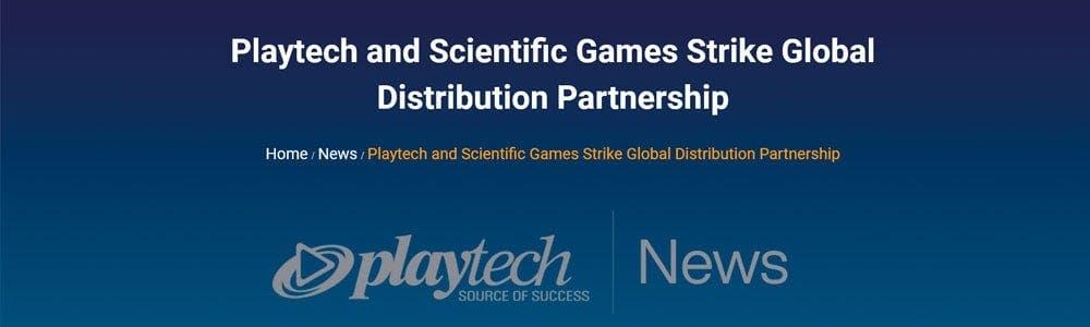 Playtech y Scientific Games ahora juntos