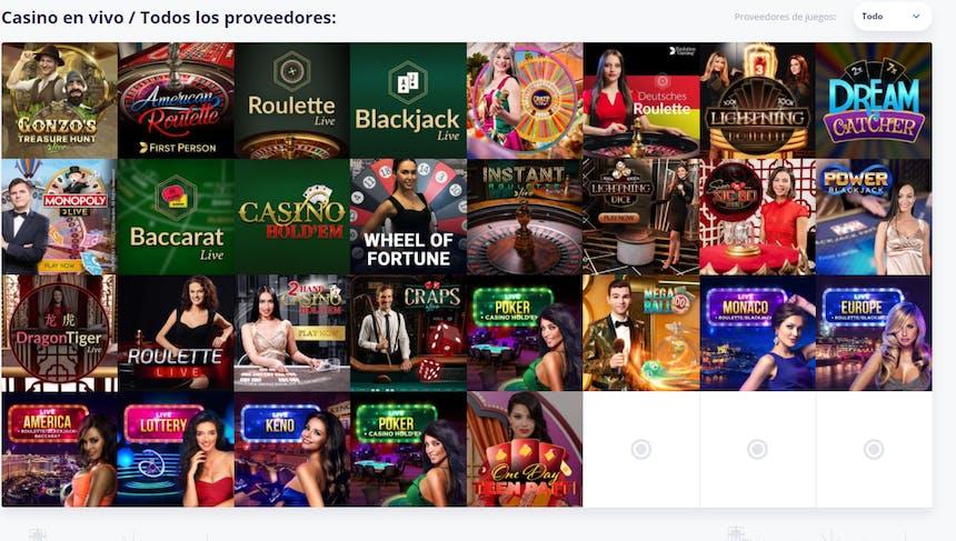 Disfruta del casino en vivo y juega a tu juego favorito en VulkanVegas Chile