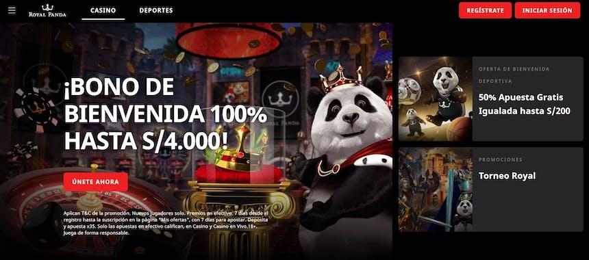 bono e promozione del Royal Panda