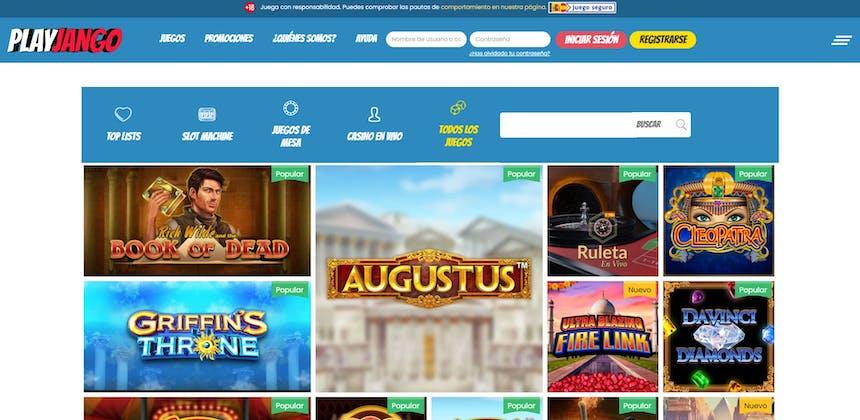 juegos de slot online en Play Jango