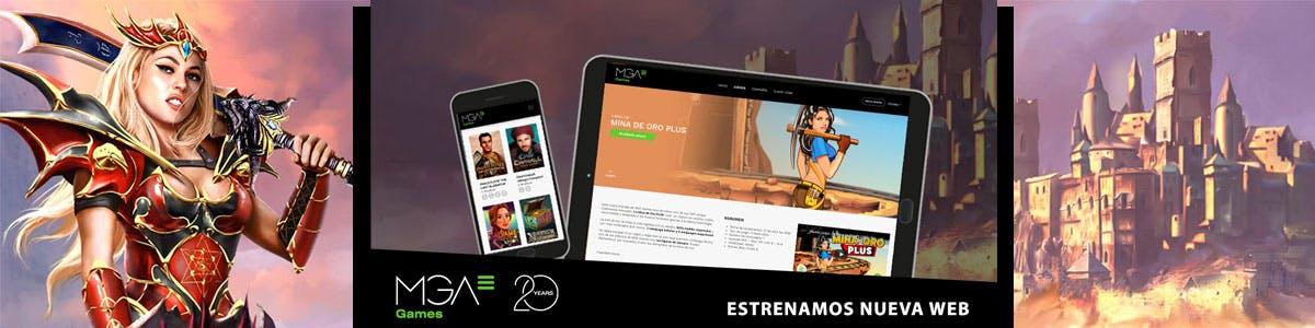 Las tragaperras MGA estrenan web: mga.games