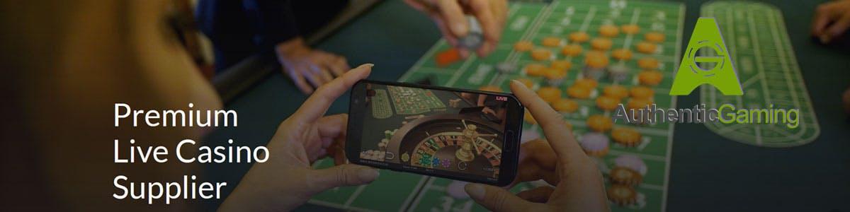 Ruletas Authentic Gaming en casinos españoles