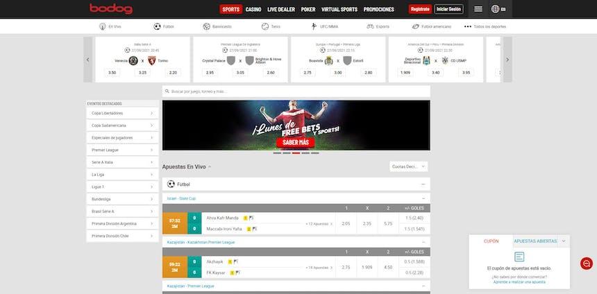 Disfruta en Bodog de las mejores apuestas deportivas online