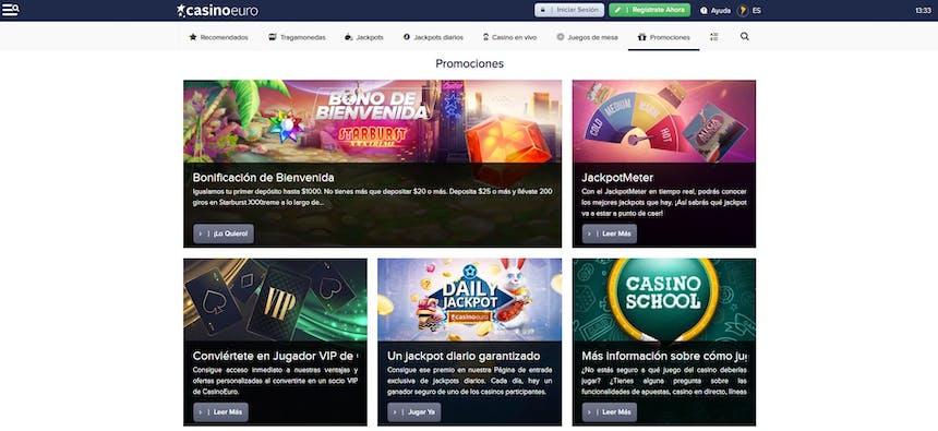 bono e promozione del CasinoEuro