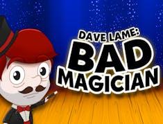 Dave Lame Bad Magician logo