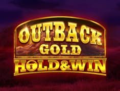 Outback Gold Hold and Win logo