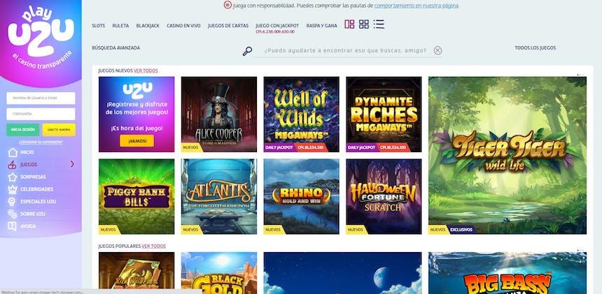 juegos de slot online en PlayUzu Chile