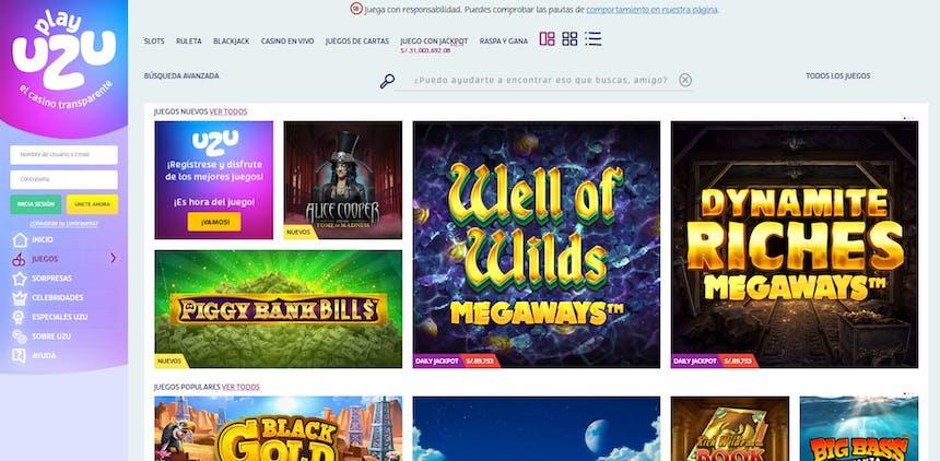 juegos de slot online en PlayUzu Perú