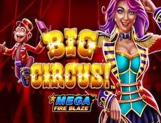 Big Circus Mega Fire Blaze logo