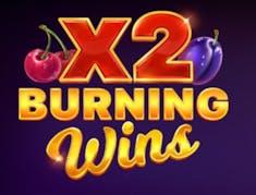 Burning Wins x2 logo